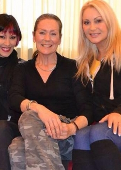 With Saffron Sprackling and Lorraine Chase on a dog rescue mission 2013